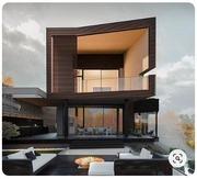 Создание фотореалистичный тендеров для вашего проекта. 3D модель дома